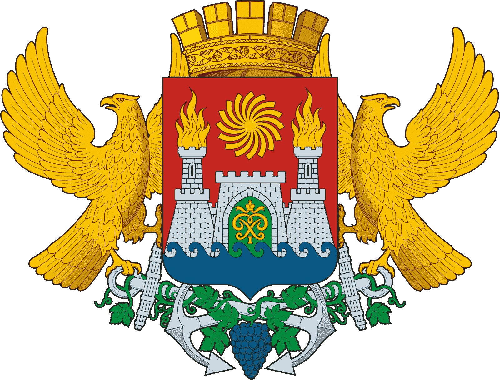 Coat of Arms of Makhachkala min
